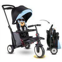 smarTrike STR5 7 Stage Compact Folding Stroller Certified Trike Blue Squirrel 6  Months
