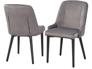 lifestorey Welland Dining Chair  Set of 2  Retail 222 49
