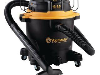 Vacmaster 12gal 5 5 HP Wet Dry Vacuum Cleaner