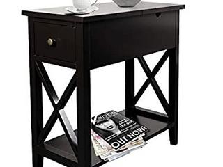 Choo Choo End Table   Espresso Color