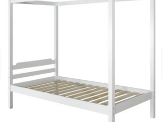 Taylor   Olive Tansy Twin Canopy Bed  Retail 362 49