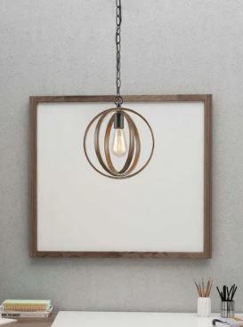 Carbon loft Ghaffari Farmhouse Island Pendant lighting for Kitchen Circle Mini Ceiling lamp   W 11 x H 13  Retail 123 49