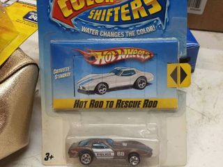 Hot Wheels color shifters water changes the color Corvette Stingray
