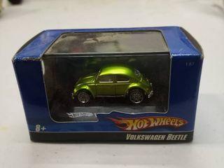 Hot Wheels Volkswagen Beetle in display case