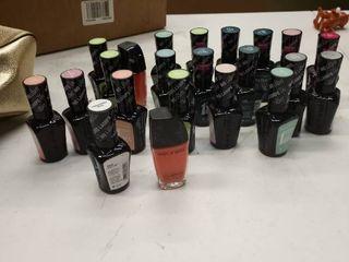 approximately 20 bottles fingernail polish