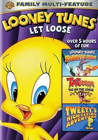 looney Tunes  let loose Triple Feature  DVD