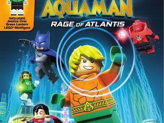 lego DC Super Heroes  Aquaman  Rage Of Atlantis  Blu Ray   DVD   Digital