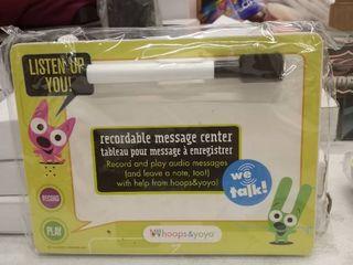 Hallmark Hoops And Yoyo Hyo3210 Recordable Dry Erase Message Board
