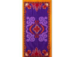 Aladdin Backpack Beach Towel Purple