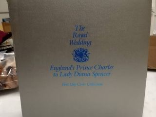 The Royal Wedding England s Prince Charles to lady Diana Spencer first day cover collection