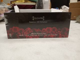 equsupro essential oils collection