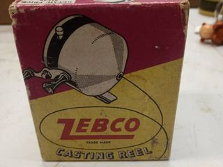 Zebco casting reel the Revolutionary casting reel by Zebco