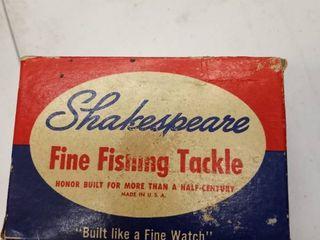 Shakespeare fishing reel