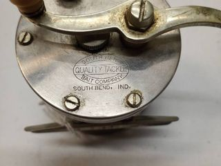 South Bend quality tackle bait company South Bend Indiana fishing reel