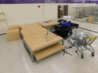Tables  Hangers   Cart
