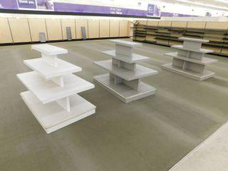 3 Wood Multi Tier Display Tables