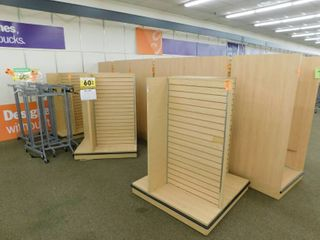 large lot Of Rolling Displays