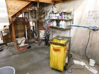 Contents Of Janitorial Room