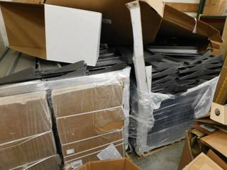 2 Pallets Of New Metal Shelving