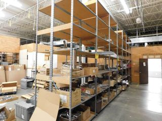 Contents Of large Metal Shelf   Shelf