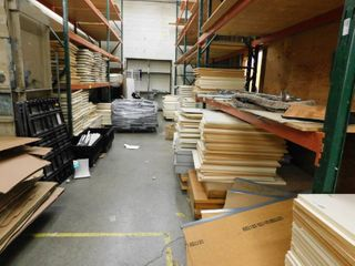 Contents Of Pallet Racking Shelves