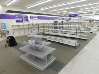 Free Standing Display Shelves   Wall Mount Shelving