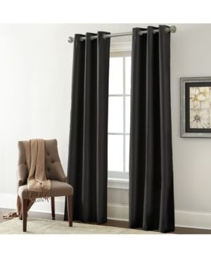 1 pair  Modern Threads Textured Blackout Curtain Panel Pair   37 x 84   37 x 84