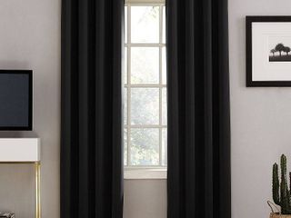 Sun Zero Oslo Theater Grade Extreme Total Blackout Grommet Curtain Panel