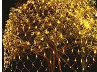 96 lED Net Grid String light Decorate Garden Fairy light Christmas Wedding Party Holiday light US Plug