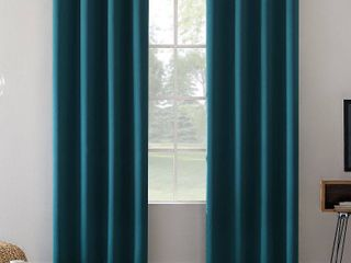 1 panel  Sun Zero Oslo Total Blackout Grommet Curtain Panel