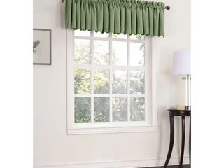 1 valance  Porch   Den Inez Room Darkening Window Valance   54 x 18