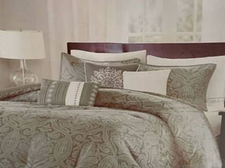 King  Gracewood Hollow Rio 7 piece Comforter Set Retail 114 49