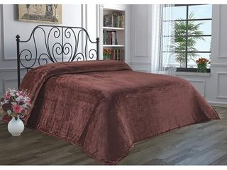 Queen   Mink  luxury Home Hotel Super Soft Flannel Blanket