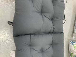 Patio Chair Cushion Gray 24x48