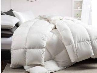 Pure Down white down comforter full queen