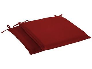 Humble   Haute Sunbrella Canvas Jockey Red Indoor  Outdoor Cushion  Set of 2