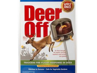 DEER OFFAr WATERPROOF DEER REPEllENT STATION