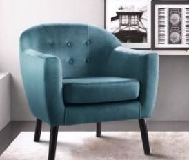 Blue  Porter Accent Chair Retail 168 99