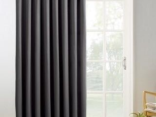 Sun Zero Hayden energy saving black out gray curtain panel 118 l