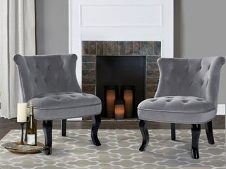 Jane Accent Chair  grey