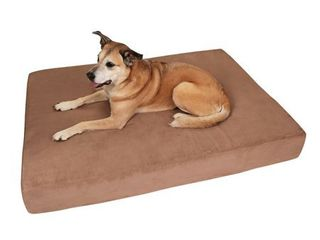 large   Khaki  Big Barker 7  Orthopedic Dog Bed   Sleek Edition Retail 199 95