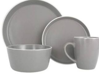 Service for 4 Dinner Plate  Salad Plate  Soup Bowl   Mug  4 Each