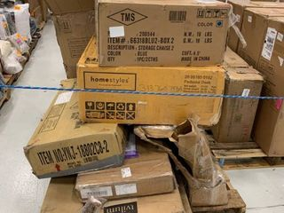 Pallet of incomplete items