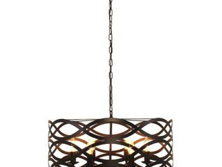 6 light Oil Rubbed Bronze Chandelier Retail 177 99