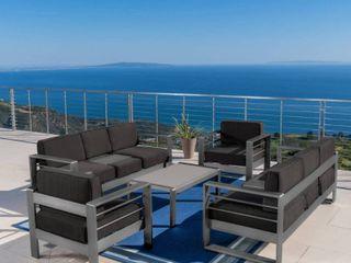Cape Coral Outdoor Aluminium love Seat Home Retail 1961 49