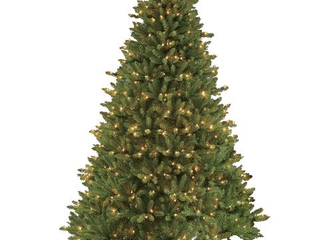 Puleo International 7 5ft Pre lit Fraser Fir Pencil Tree Artificial Christmas Tree with 350 Clear Ul listed lights