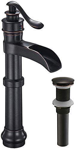 Waterfall Vessel Sink Bathroom Faucet