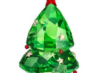 Swarovski Christmas Tree Green Ornament