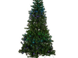 Multi Color 7 Foot Kurt Adler Pre lit Twinkly lED Pine Tree Retail 253 99