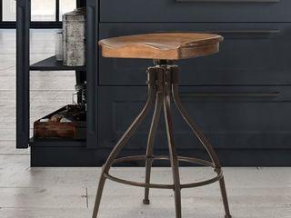 Worland Barstools Brown Black   Hillsdale Furniture
